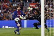 Hasil Liga Spanyol, Barcelona Menang, Lionel Messi Jauhi Mo Salah