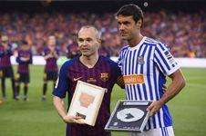 Salam Perpisahan dari Andres Iniesta untuk Barcelona