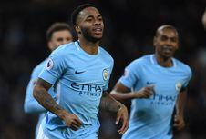 Jadi Pemain Inggris dengan Gaji Terbesar, Sterling Bahagia di Man City