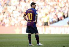 Enrique Bingung Messi Tidak Masuk Nominasi Pemain Terbaik FIFA