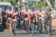 Tim Jelajah Sepeda Nusantara Tempuh Jarak 300 Km