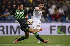 Hasil Sassuolo Vs AC Milan, Suso Akhiri Paceklik Gol pada Laga Ke-100