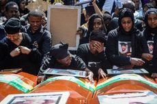 Saat Keluarga Korban Jatuhnya Ethiopian Airlines Tangisi Peti Kosong...