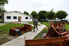 Senator Haiti Obrak-abrik Ruang Rapat, Lalu Lempar Meja Keluar Gedung