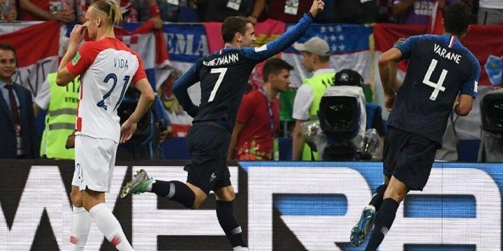 Selebrasi Gol Penalti Antoine Griezmann