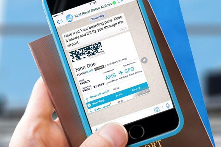 Aplikasi WhatsApp for Business KLM