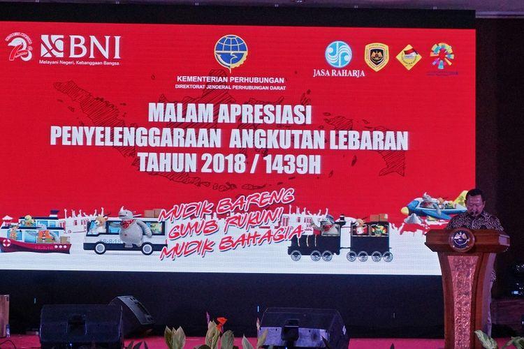 Angka Kecelakaan Turun, Kemenhub Apresiasi Penyelenggaraan Mudik 2018