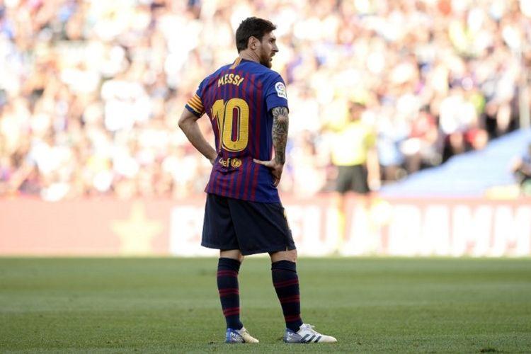 Lionel Messi menjadi kapten utama Barcelona terhitung sejak pertandingan Trofeo Joan Gamper, 15 Agustus 2018.