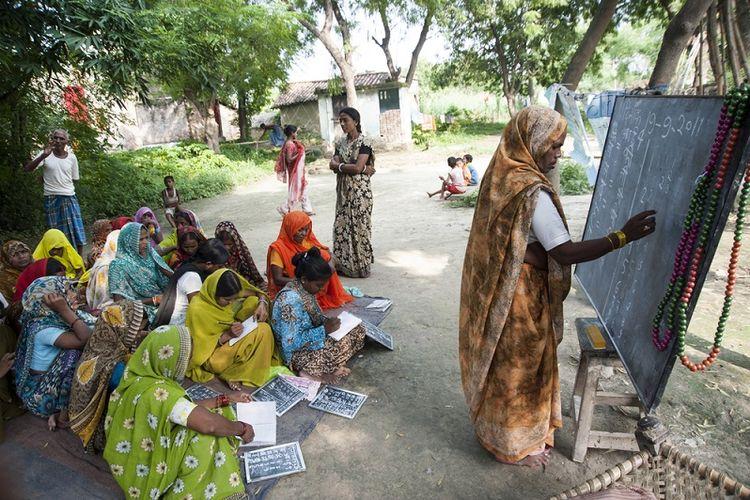 Perempuan di India. (Shutterstock)