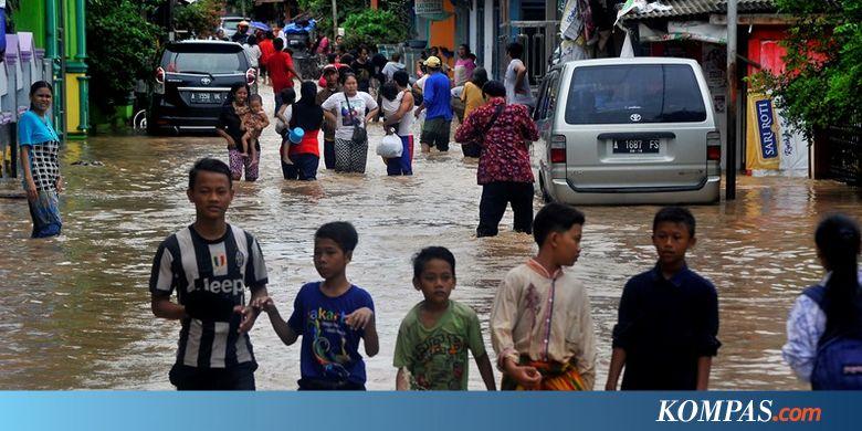 Ratusan Rumah di Cilegon dan Serang Terendam Banjir