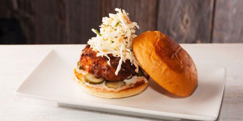 Teriyaki Samurai Burger