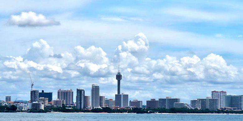 Kota Pattaya di Thailand.