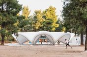 Bisa Ditiru, Rancangan Tenda Pengungsi Tak Harus Terpal Biru