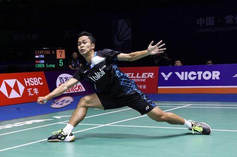 Anthony Ginting Melaju ke Babak Final China Open 2018