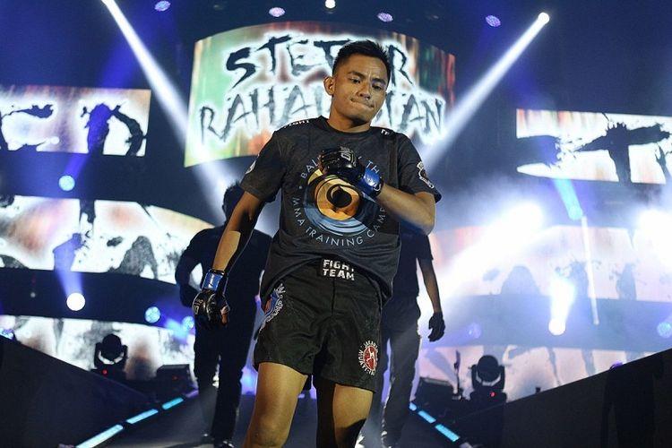 Stefer Rahardian siap menaklukkan petarung Kamboja, Sim Bunsrun, pada gelaran ONE: Total Victory di Jakarta Convention Center (JCC), Jakarta, Sabtu (16/9/2017).