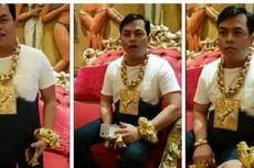 Terobsesi Emas, Pria Ini Pakai Perhiasan Jumbo Seberat 13 Kg