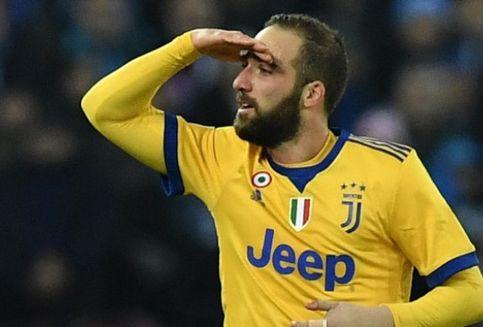 Arti Selebrasi Higuain saat Cetak Gol ke Gawang Napoli