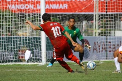 Babak Pertama Semifinal AFF U-18, Indonesia Masih Imbang Vs Thailand
