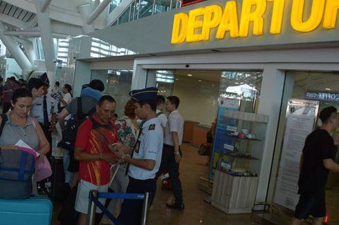 Bandara Ngurah Rai Kebanjiran Pelancong Usai Lebaran