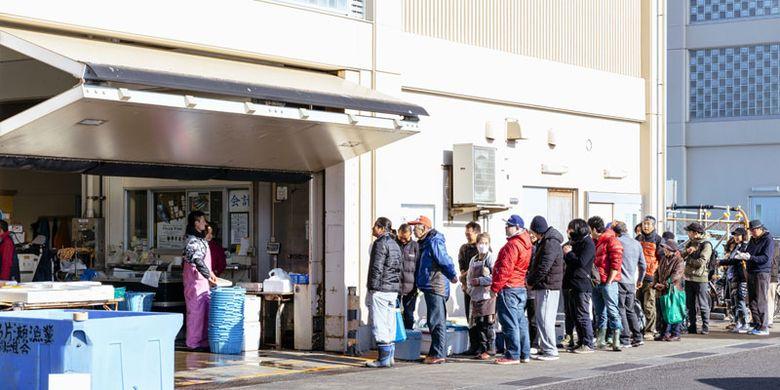 Pasar Ikan Katase Gyoko di Jepang.