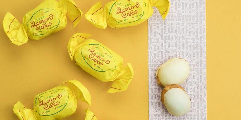 Shimanami Lemon Cake yang berbahan lemon Shimanami ini diproduksi oleh Patisserie 1904.