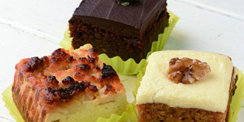 Toko kue AaH bit di daerah Zaimokuza, Prefektur Kanagawa, selatan Tokyo, Jepang. Kue-kue di toko ini dibuat tanpa menggunakan gula, tepung terigu, ataupun bahan-bahan pengawet lainnya.