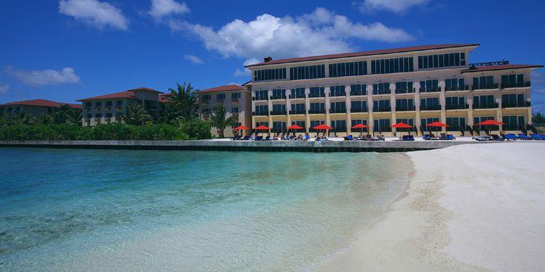 Hotel bandara di Pulau Hulhule, Maladewa.