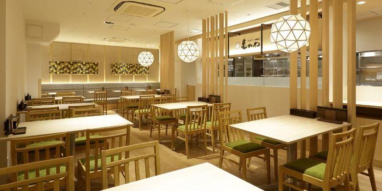 Tonkotsu Ittoage Kamekawa cabang Sugamo Toshima, Tokyo, Jepang.