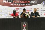 Piala Presiden, Pemain Sriwijaya FC Butuh Refreshing