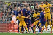 Hasil Liga Spanyol, Gol Messi Licinkan Jalan Barca Jadi Juara