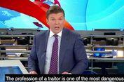 Presenter Rusia Ini Ancam Mata-mata yang Dianggap Berkhianat