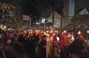 5.000 Warga Pawai Obor di Malam Peringatan Bandung Lautan Api