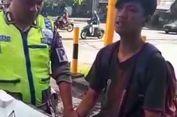 Akan Ditilang Polisi, Pelanggar Lalu Lintas Ini Pura-pura Kesurupan