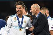 Spektakuler! Zidane Persembahkan Gelar Per 97 Hari