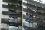 Bak 'Spiderman', Pria di Paris Panjat Gedung untuk Selamatkan Bocah