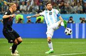 Argentina Main Kotor, Striker Kroasia Ogah Minta Jersey Lionel Messi