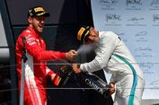 Hasil F1, Vettel Permalukan Hamilton di GP Inggris