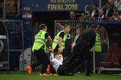Final Piala Dunia: Penyusup Sempat Ganggu Laga Perancis Vs Kroasia