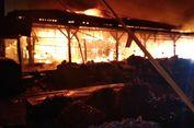 Pasar Gedebage Terbakar, Kerugian Mencapai Rp 5,5 Miliar
