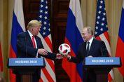 Dihadiahi Bola Piala Dunia oleh Putin, Apa Aksi Balasan Trump?