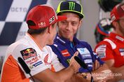 Valentino Rossi Ikuti Gaya Hidup Marc Marquez