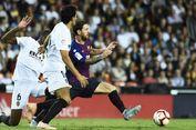 Hasil Valencia Vs Barcelona, Messi dkk Gagal Menang 4 Laga Beruntun