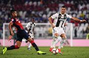 Hasil Juventus Vs Genoa, Laga Berakhir Seri, Ronaldo Cetak Rekor