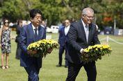PM Abe Kunjungi Darwin, Kota yang Pernah Dibom Jepang 75 Tahun Lalu