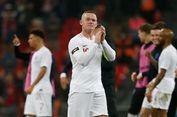 Laga Terakhir di Timnas Inggris Tak Cetak Gol, Rooney Tetap Bahagia