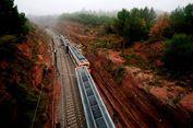Kereta di Spanyol Tergelincir Akibat Tanah Longsor, 1 Orang Tewas