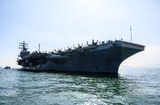 Kapal Induk AS Merapat di Pelabuhan Hong Kong