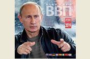 Penjualan Kalender Bergambar Vladimir Putin Laris Manis di Jepang