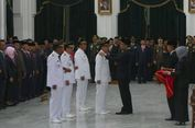 Lantik Dua Kepala Daerah, Ridwan Kamil Tekankan Reformasi Integritas