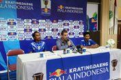 Piala Indonesia, Hariono Minta Maaf karena Persib Gagal Menang atas Arema